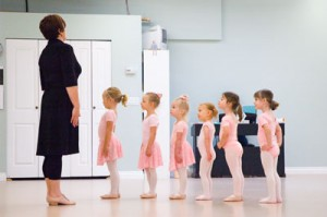 Julia's First Ballet Class