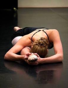 Front split ballet