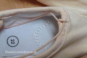 Schokdempende balletschoenen van Dancer Dancewear