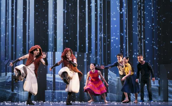 Dansvoorstelling Narnia