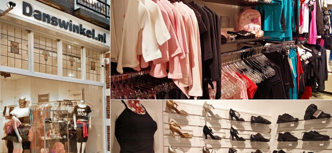 Kies een balletpakje in Danswinkel Den Haag