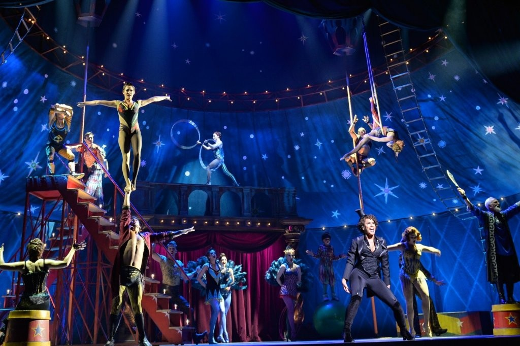 review pippin the musical in carre