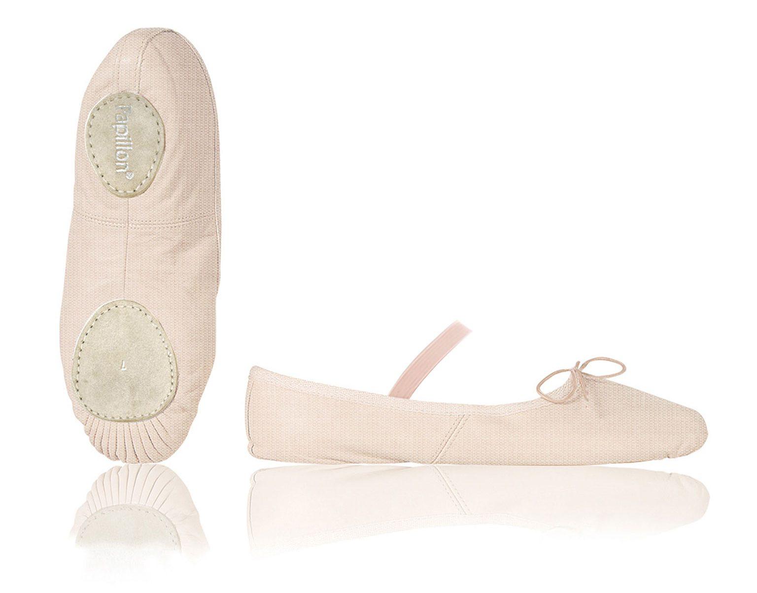 balletschoenen materiaal canvas