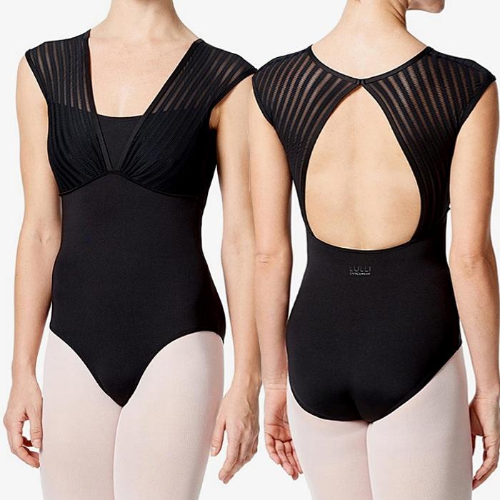 Lulli Dancewear dames balletpakje met kapmouwen LUF526