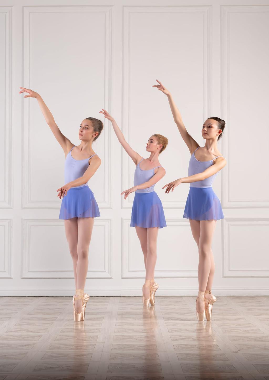 Grishko Academy paarse balletpakjes