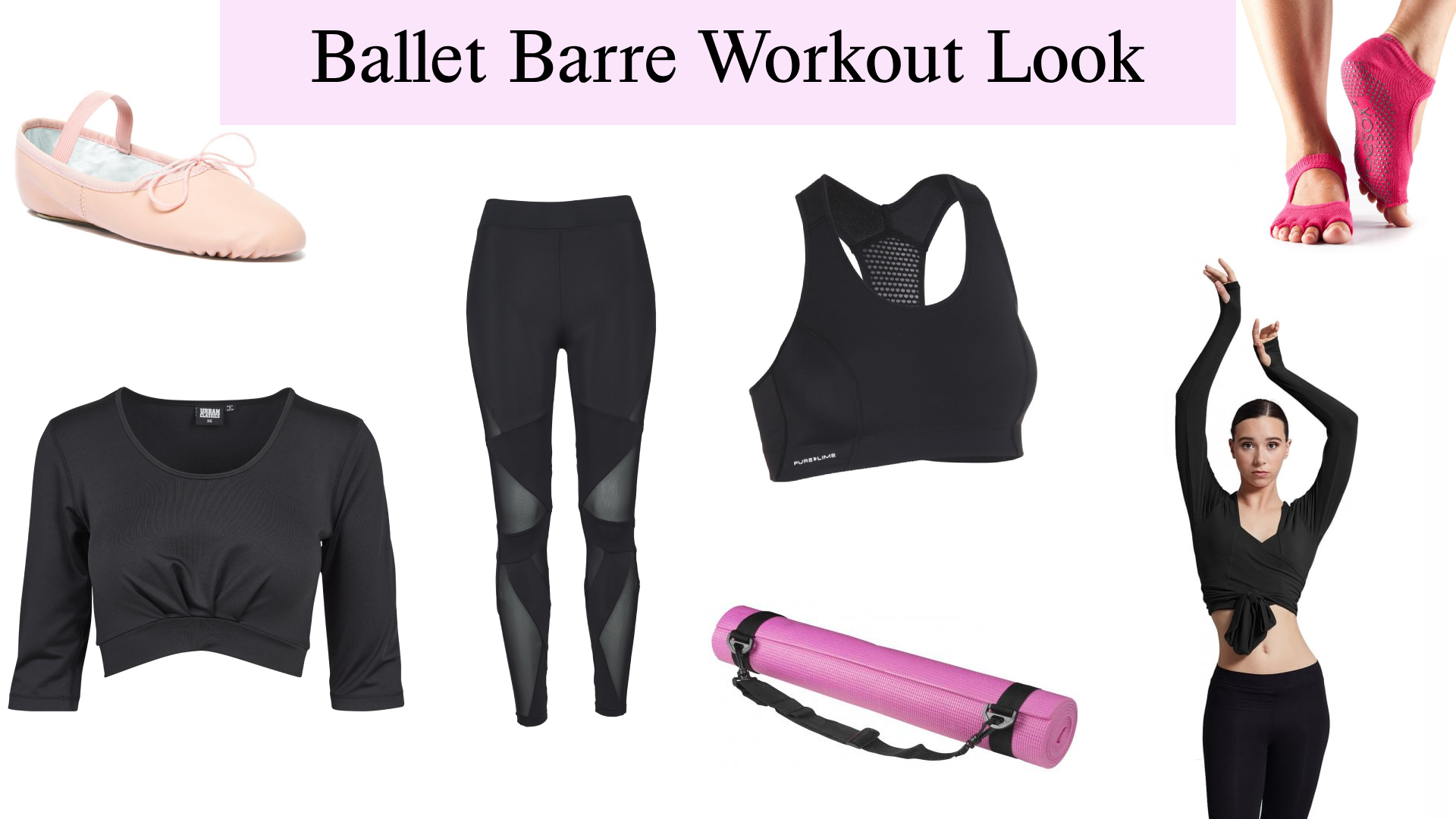 ballet barre workout look